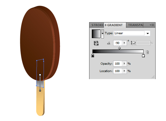 12 Create a tasty chocolate ice cream in Adobe Illustrator